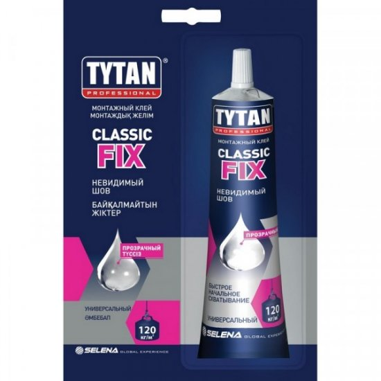 Tytan Монтажний клей Classic Fix  100 мл безколірний