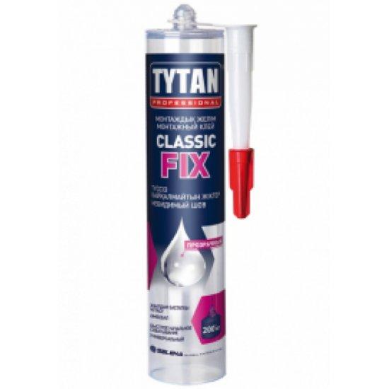 Tytan Монтажний клей Classic Fix 310 мл безколірний