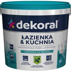 Емульсійна акрилова фарба Dekoral Maleinak Plus  для стін захист від плісняви 1л