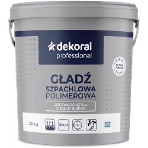 Шпаклівочна фінішна суміш Decoral Professional Gotowa Gladz 25 кг