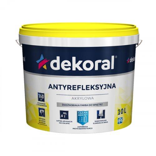 Емульсійна фарба акрилова Dekoral Polinak для стін та стелі 1л