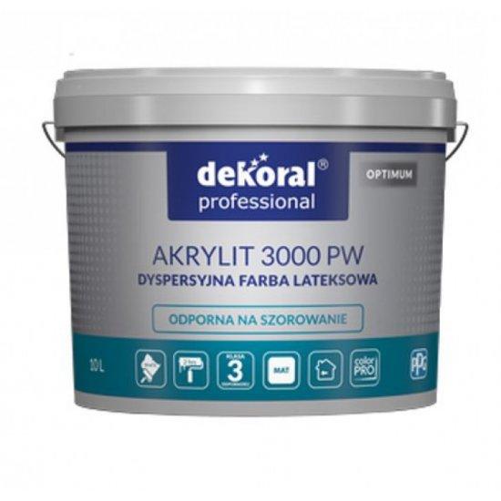 Dekoral Akrylit 3000 прозора база 9.32л