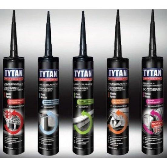 Tytan Герметик Бітумний для покрівлі 310 мл чорний