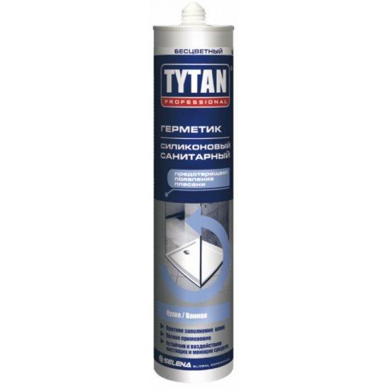 Tytan Санітарний  cилікон 280мл білий