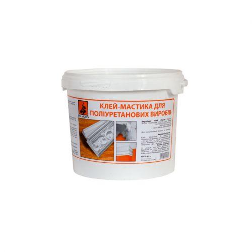 """Клей-мастика для поліуретанових виробів """"PRIMUS"""" (для приклеювання тяжких багетів, гіпсових ) 4,0 кг"""