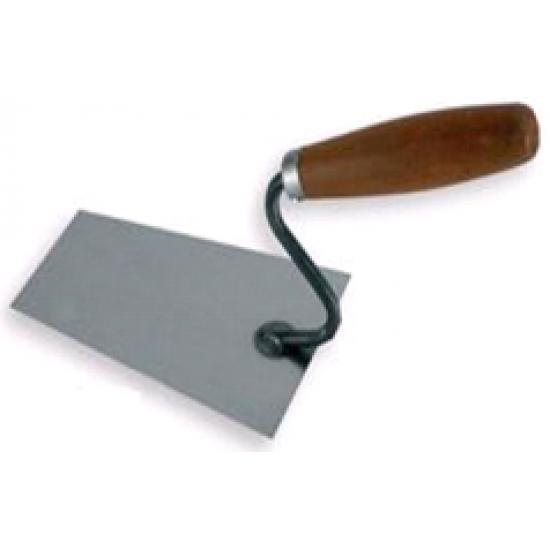Кельма трапецієвидна метал чорний 130mm WoffMann