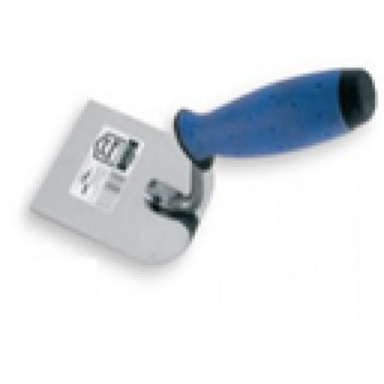 Кельма штукатурна нержавіюча 100 мм ручка гумова WoffMann