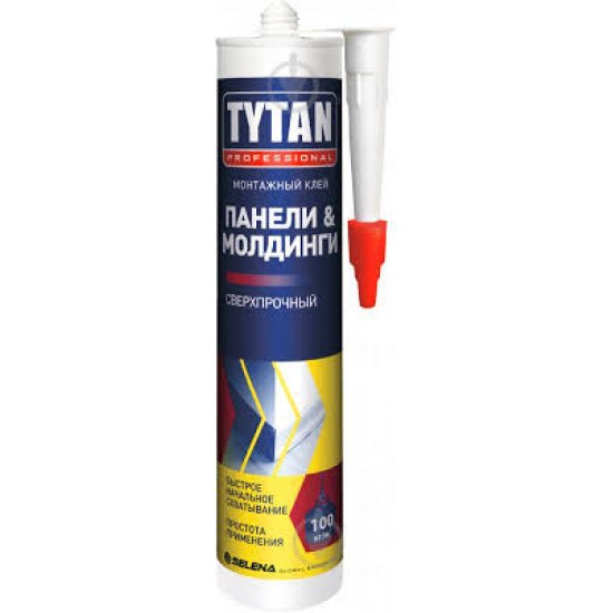 TYTAN  Клей монтажний  для панелей та молдінгів 310 мл