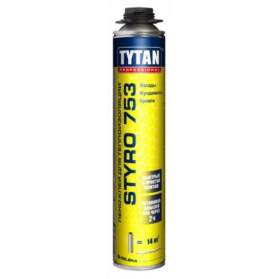Tytan піно-клей STYRO 753 Клей для теплоізоляції