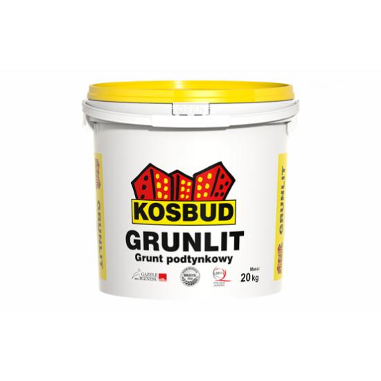 Грунт акриловий, KOSBUD GRUNLIT (без піску), база,10 кг