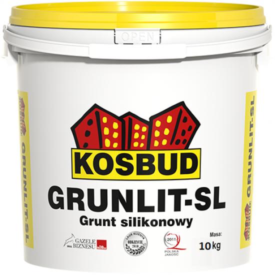 Грунт силіконовий, KOSBUD GRUNLIT-SL, (з піском) 10 кг
