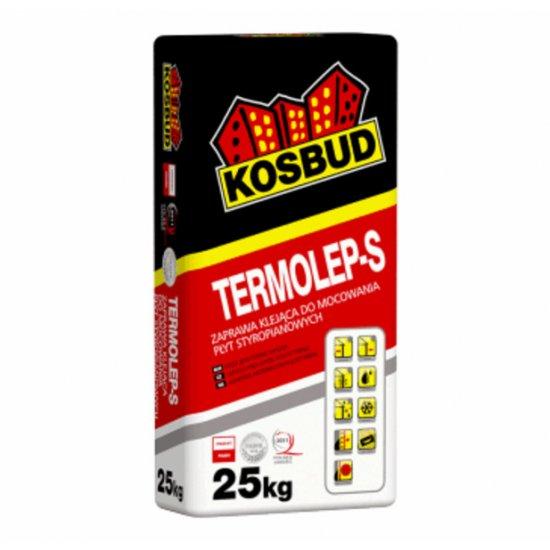 Клей для пінополістирольних плит, KOSBUD TERMOLEP-S, 25 кг