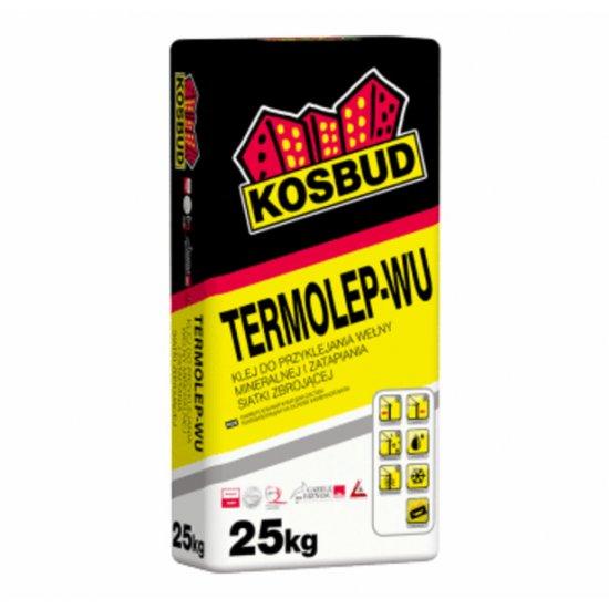 Клей універсальний для мінераловатних плит, KOSBUD TERMOLEP-WU, 25 кг