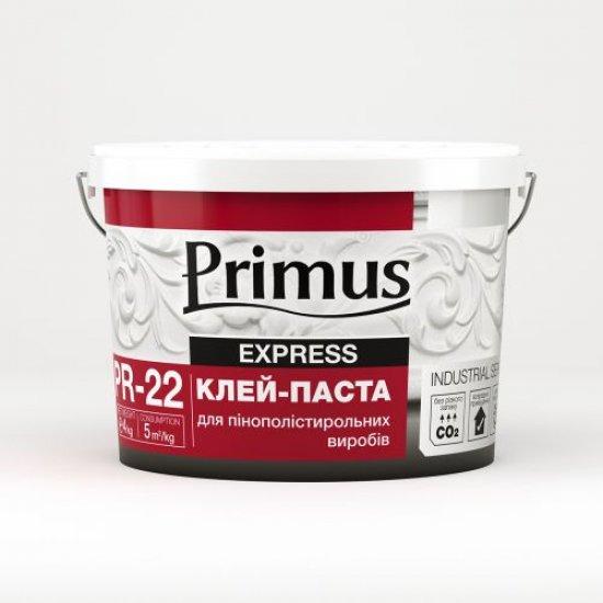 """Клей паста для пінополістирольних виробів """"PRIMUS"""" 4,0кг"""