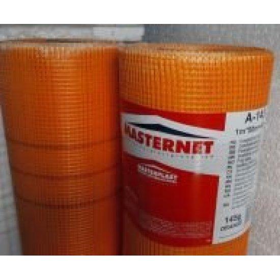 Сітка штукатурна MASTERNET (МАСТЕРНЕТ) 145г (50м2) помаранчева