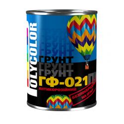"""Грунтовка економ """"POLYCOLOR"""" ГФ-021 сіра 2,8 кг"""