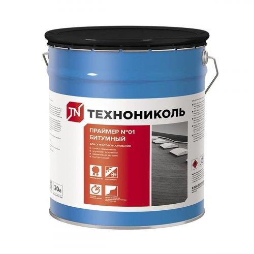 Праймер бітумний ТЕХНОНІКОЛЬ №01(готовий), відро 20 л