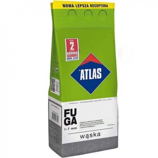 Затирка для швів Atlas Fuga Waska 204 чорна 1- 7 мм, 2 кг