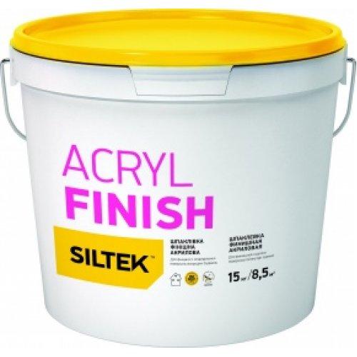 Siltek Acryl Finish Шпаклівка фінішна акрилова (5 кг)