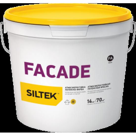 Siltek Facade Фарба атмосферостійка латексна. База FА (14 кг)