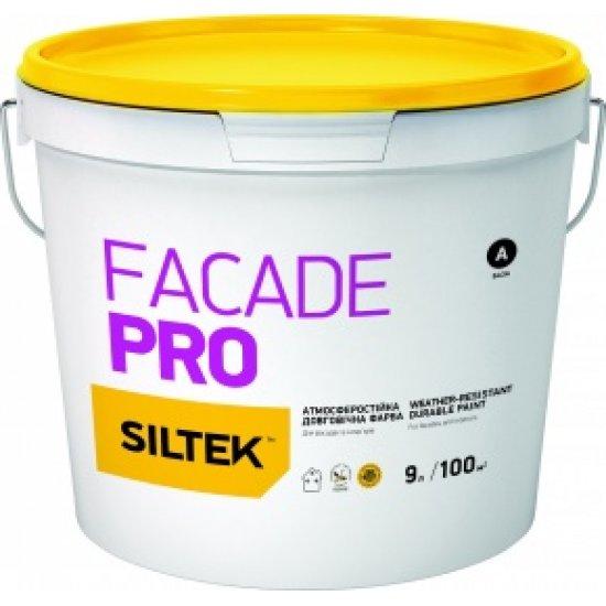 Siltek Facade Pro Фарба атмосферостійка довговічна. База FC (9 л)