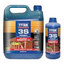 Tytan Деревозахистний засіб 3S УЛЬТРАБІОЗАХИСТ 1кг зелений